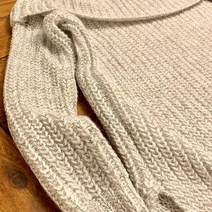 ILLA ILLA Sweaters - Off Shoulder Grey Sweater Size Medium